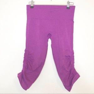 lululemon athletica Pants - LULULEMON In The Flow II Crop Heathered Regal Plum